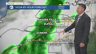 7 First Alert Forecast Update, Monday, April 19