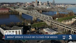 Trucking experts weigh in on Brent Spence Bridge closure