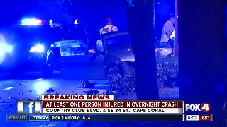 Serious crash closes Country Club Boulevard in Cape Coral