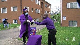 Dohn Social Distancing High School Graduation