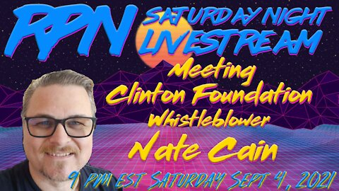 Meeting Nate Cain Live at BardsFest on Saturday Night Livestream