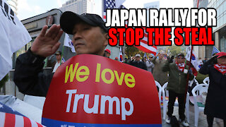 Japan has STOP THE STEAL Rally for Trump