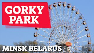 GORKY PARK - MINSK, BELARUS - 24TH SEPTEMBER 2020