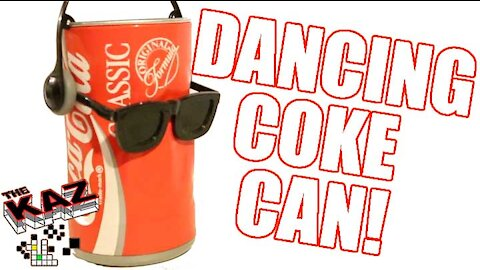 Dancing Coke Can