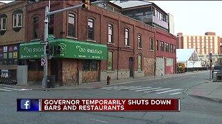 Bars, restaurants temporarily shuttered amid COVID-19 outbreak