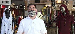 Vegas designer creates designer masks