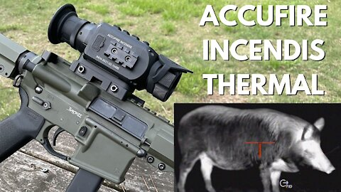 Accufire Incendis Thermal Optic - You get all this for $3k