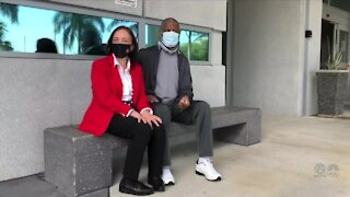Boynton Beach couple thankful for emergency care received at Delray Medical Center