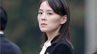Kim Yo-jong, sister of Kim Jong-un, warns the United States