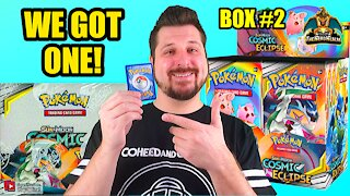 Cosmic Eclipse Booster Case (Box 2) | Charizard Hunting | Pokemon Opening