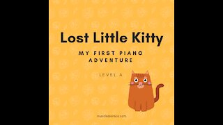 Piano Adventures Lesson Book A - Little Lost Kitty