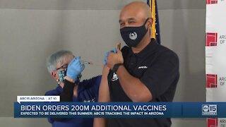 Biden orders 200 million additional vaccines
