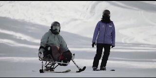 Las Vegas woman overcoming paralyzing injury through adaptive sports