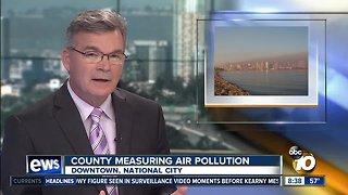 San Diego County measuring air pollution
