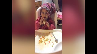 Little Girl Just wants her Ice Cream!