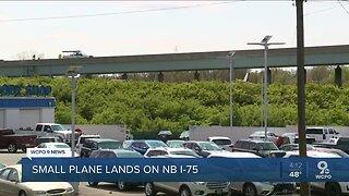 Plane crashes onto Ohio highway
