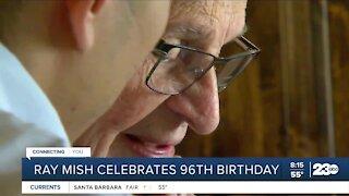 Ray Mish celebrates 96th birthday