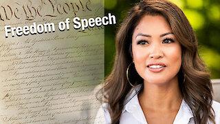 Freedom of speech is precious