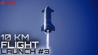 Starship SN10 Lands Latest Test Flight