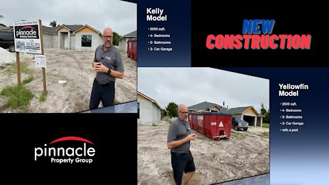 Kelly & Yellowfin Models New Home Construction Cape Coral, Florida