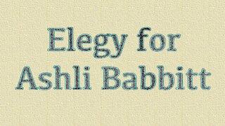 Elegy for Ashli Babbitt