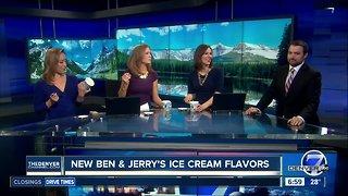 New Ben & Jerry's ice cream