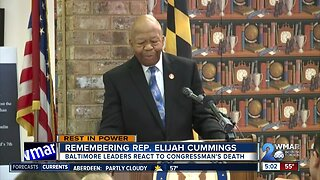 Remembering Rep. Elijah Cummings