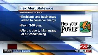 PG&E issues flex alert asking residents to conserve energy