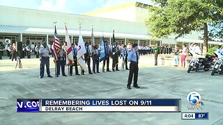 Remembering lives lost on 9/11 in Delray Beach