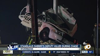 Stanislaus County deputy killed during high-speed chase