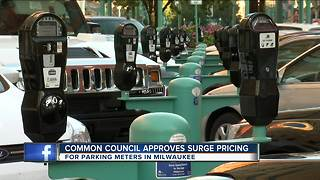 'Surge pricing' approved for Milwaukee metered parking
