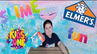 Elmer's Glue Blueberry Cloud Review