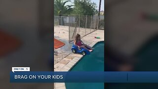 Brag About Your Kids: Wellington girl makes her own Splash Mountain