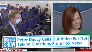 Peter Doocy Calls Out Biden For Not Taking Questions From Fox News