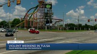 Violent Weekend in Tulsa