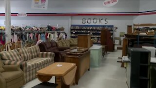 Shoppers turn to thrift stores amid furniture back-log