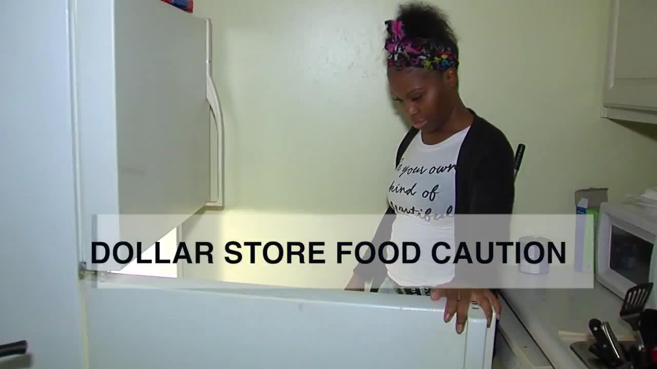 Dollar Store Food Caution