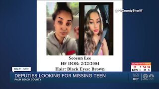17-year-old girl from West Palm Beach missing since June
