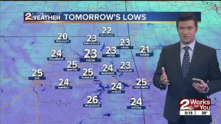 Sunday night forecast