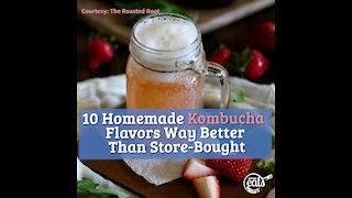 10 Homemade Kombucha Flavors Way Better Than Store-Bought