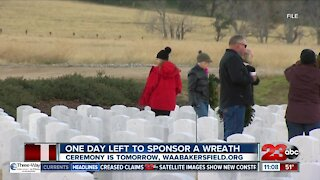 Wreath Across America honoring veterans in virtual ceremony