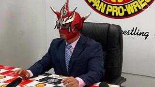 Wrestling Legend Jushin 'Thunder' Liger Announces Retirement