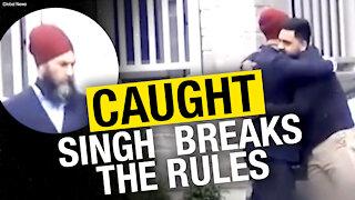 NDP leader Jagmeet Singh sorry for breaking COVID rules