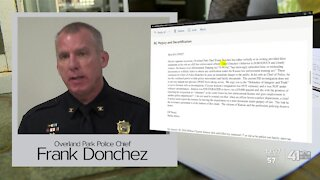 Complaint claims OP police chief filed false report