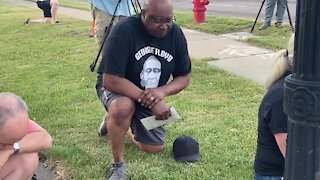 One year after George Floyd's death, Holt community comes together to show support