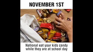 National Eat Your Kids' Candy Day [GMG Originals]