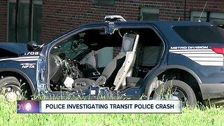 Investigation continues into Transit Police crash