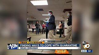 Finding ways to cope with quarantine