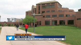 Marquette program helps students with autism adjust to college life