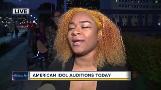 Tryouts: American Idol auditions today in Detroit